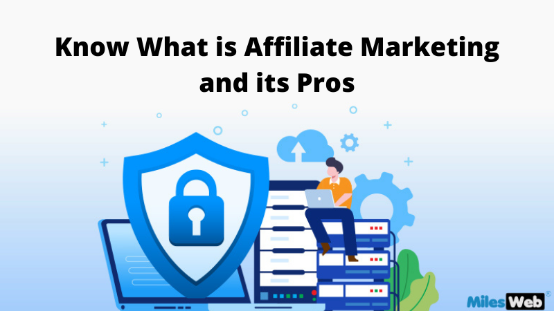 Know What is Affiliate Marketing and its Pros